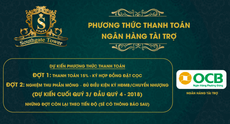 thanh toan south gate tower - CĂN HỘ SOUTHGATE TOWER QUẬN 7