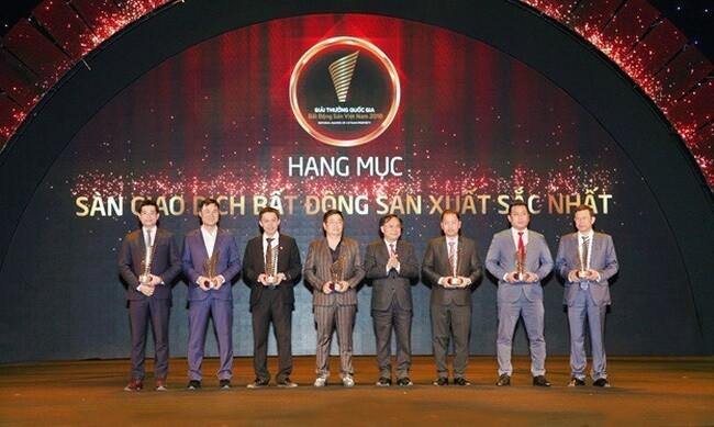 danh khoi dat giai san giao dich bds xuat sat nhat 1 - DKRA Việt Nam được vinh danh top 10 sàn giao dịch BĐS xuất sắc nhất