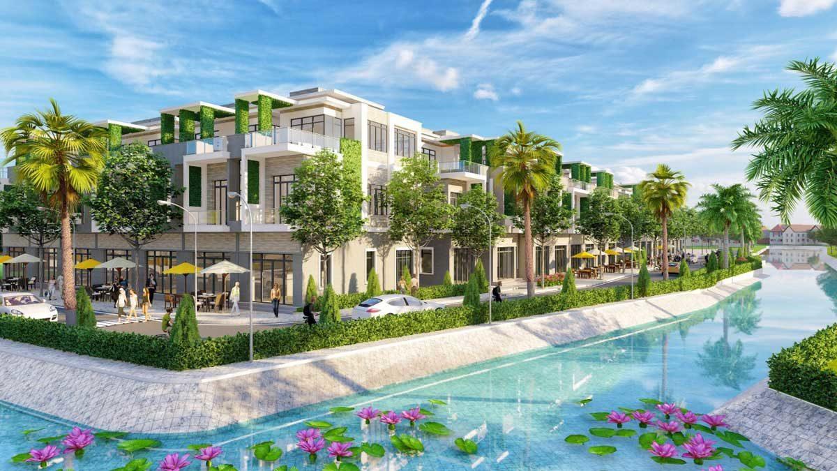 Khu nhà phố Dự án The Residence 2-Res 2 Củ Chi
