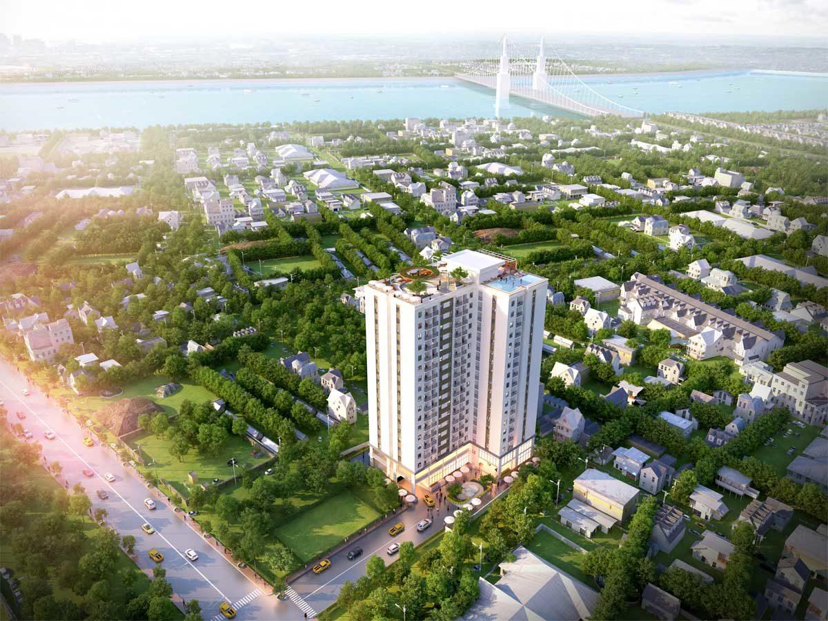 Toàn cảnh Dự án Căn hộ Chung cư STPlus RiverView Bình Dương