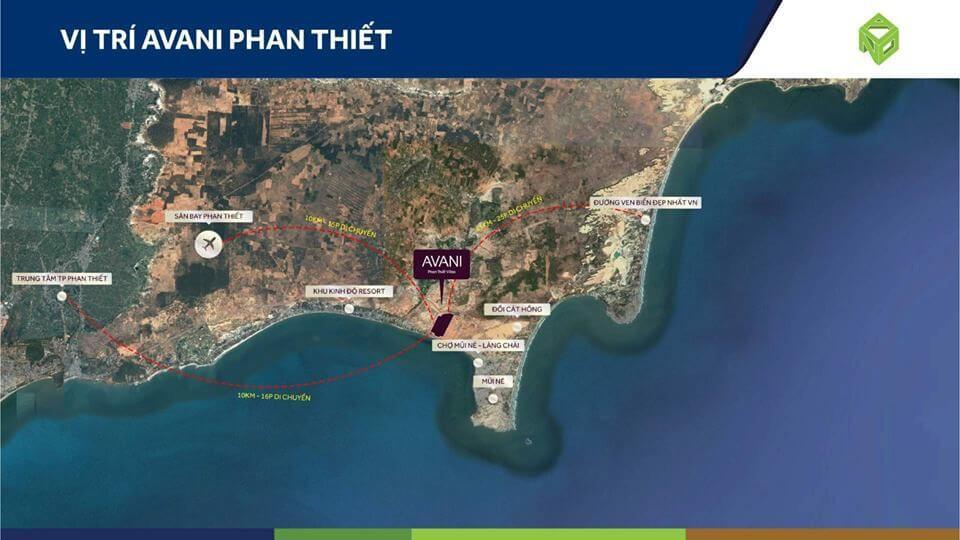 Dự án Avani Phan Thiết - DỰ ÁN BIỆT THỰ BIỂN AVANI PHAN THIẾT
