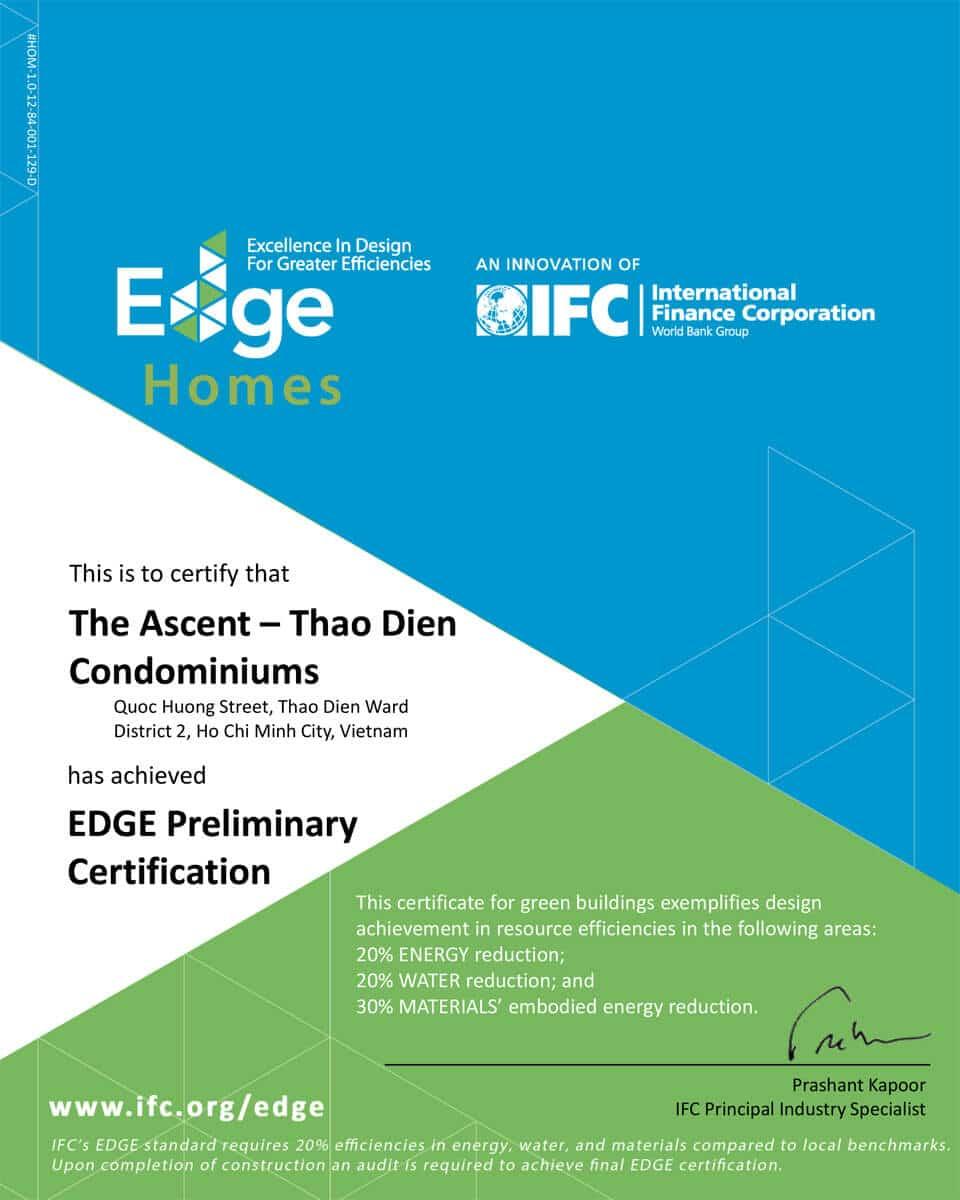 EDGE của Ascent Thảo Điền - ASCENT PLAZA NƠ TRANG LONG