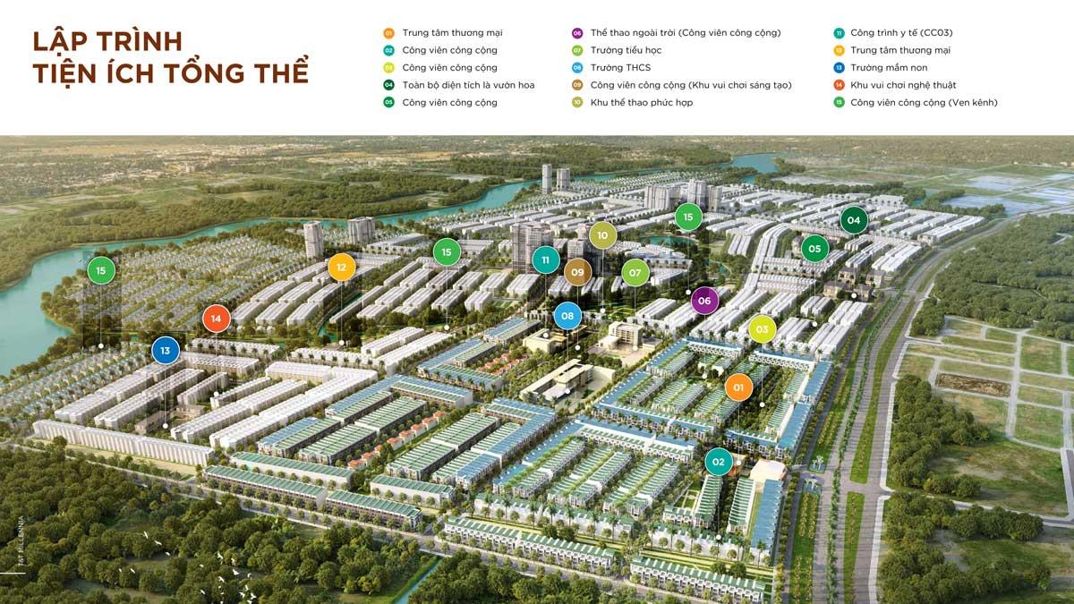 He thong Tien ich noi khu Du an TT Millennia City - T&T MILLENNIA CITY