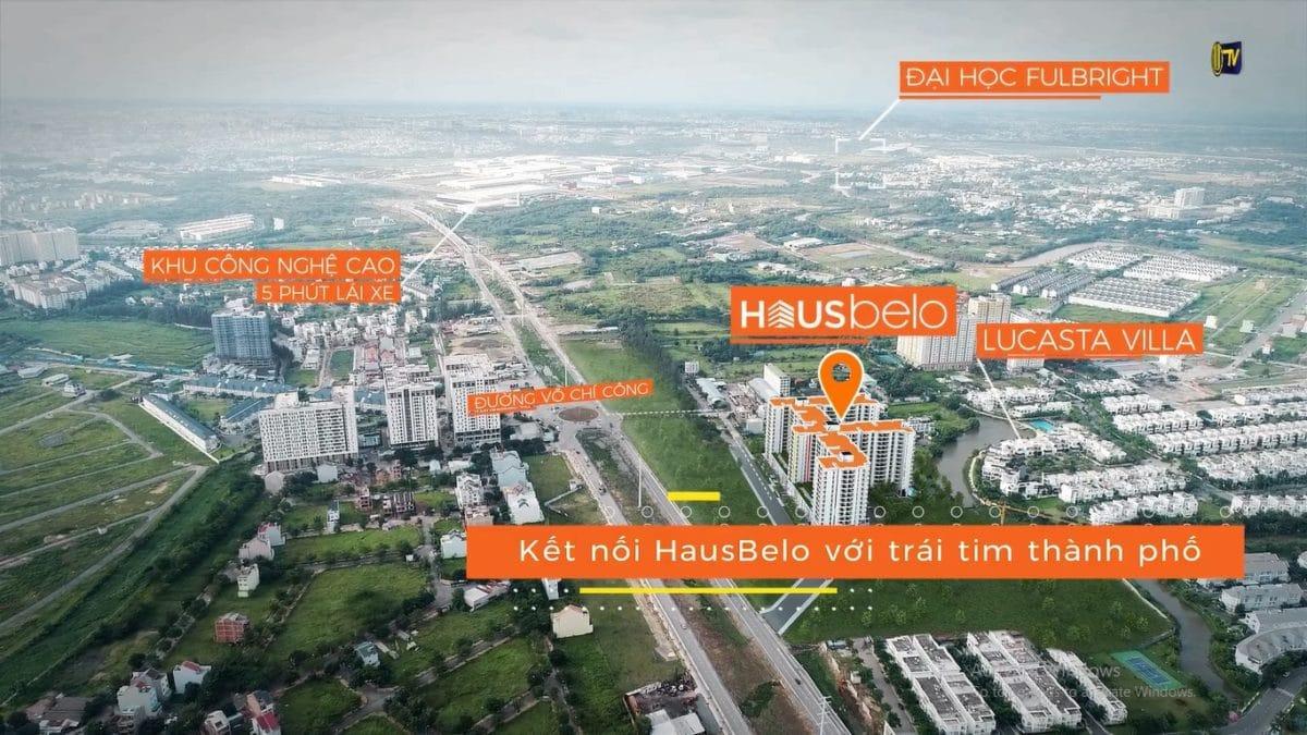 Vị trí HausBelo Quận 9
