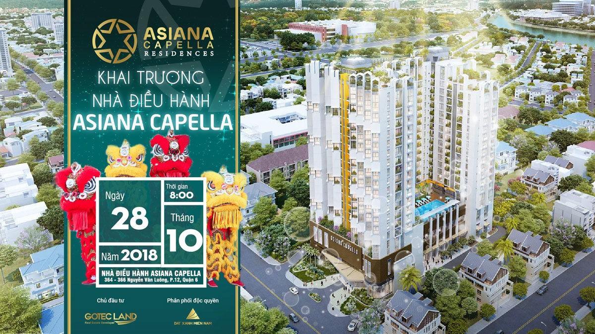 khai truong nha mau can ho asiana capella - CĂN HỘ ASIANA CAPELLA QUẬN 6