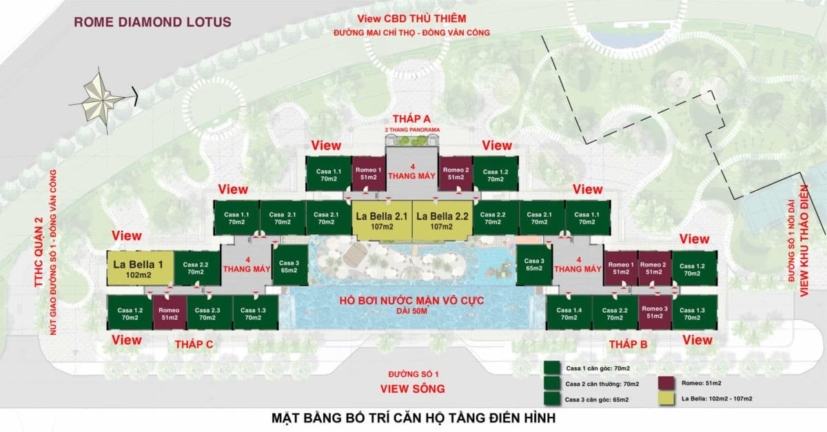 mat bang tang du an can ho diamond lotus quan 2