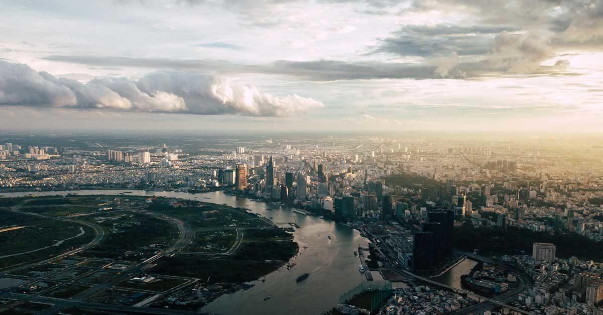 Vị trí bên Sông Sài Gòn của Dự án One Alpha Riverside