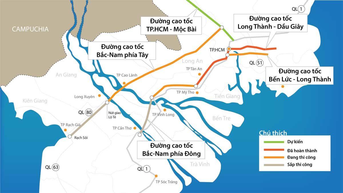 10.600 tỉ đồng xây Đường cao tốc TP.HCM - Mộc Bài Tây Ninh