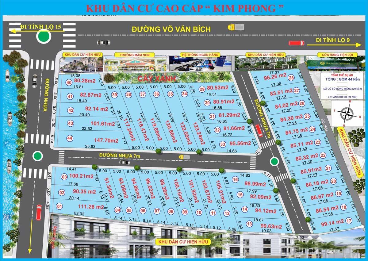 Khu dân cư Kim Phong mặt tiền Bình Mỹ, Củ Chi