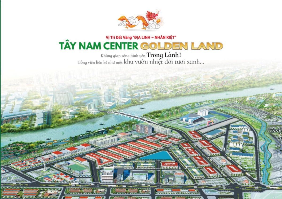 du an tay nam center golden land - Dự án Tây Nam Center Golden Land Thủ Thừa Long An