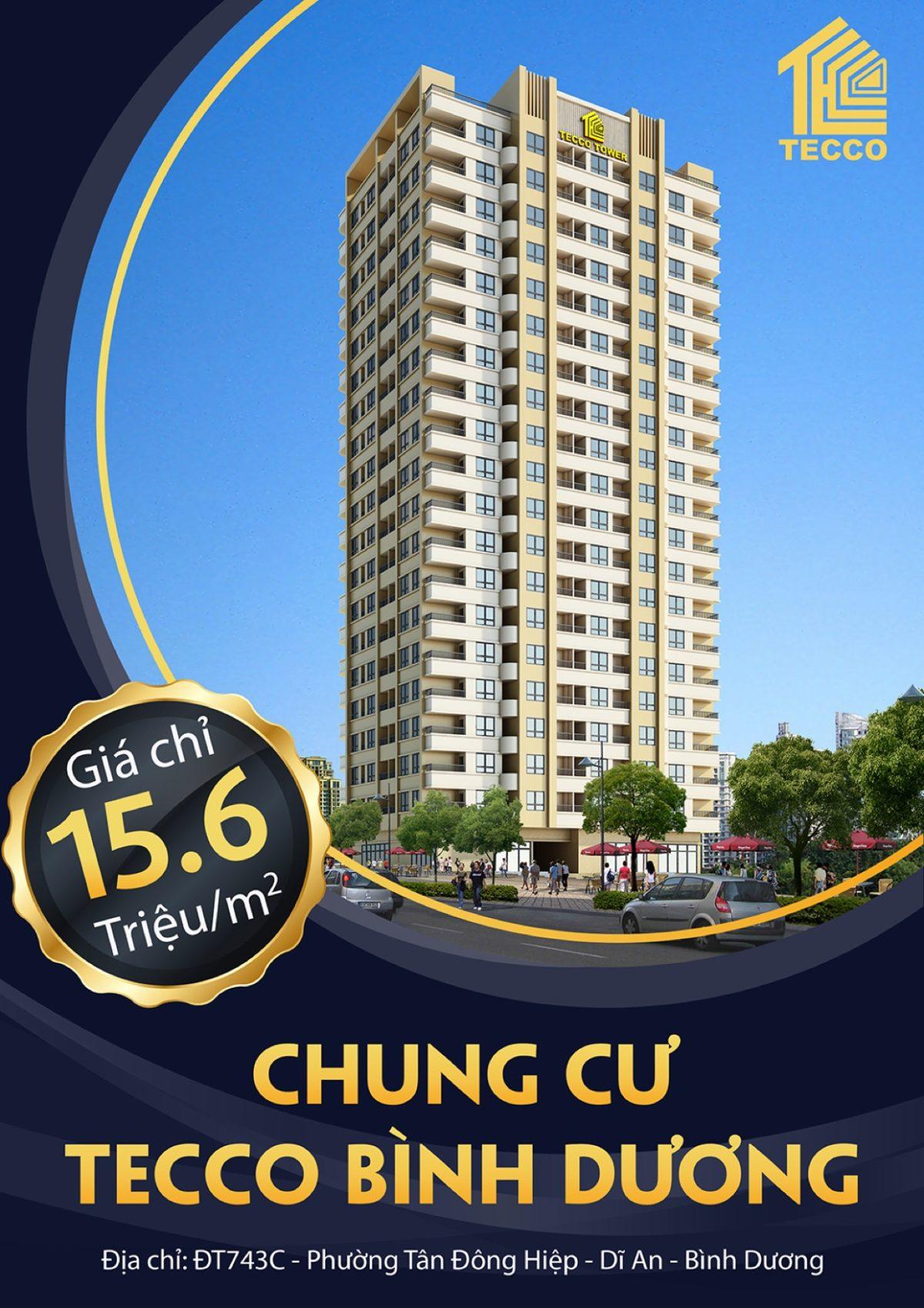 Giá bán Căn hộ Chung cư Tecco Tower Bình Dương