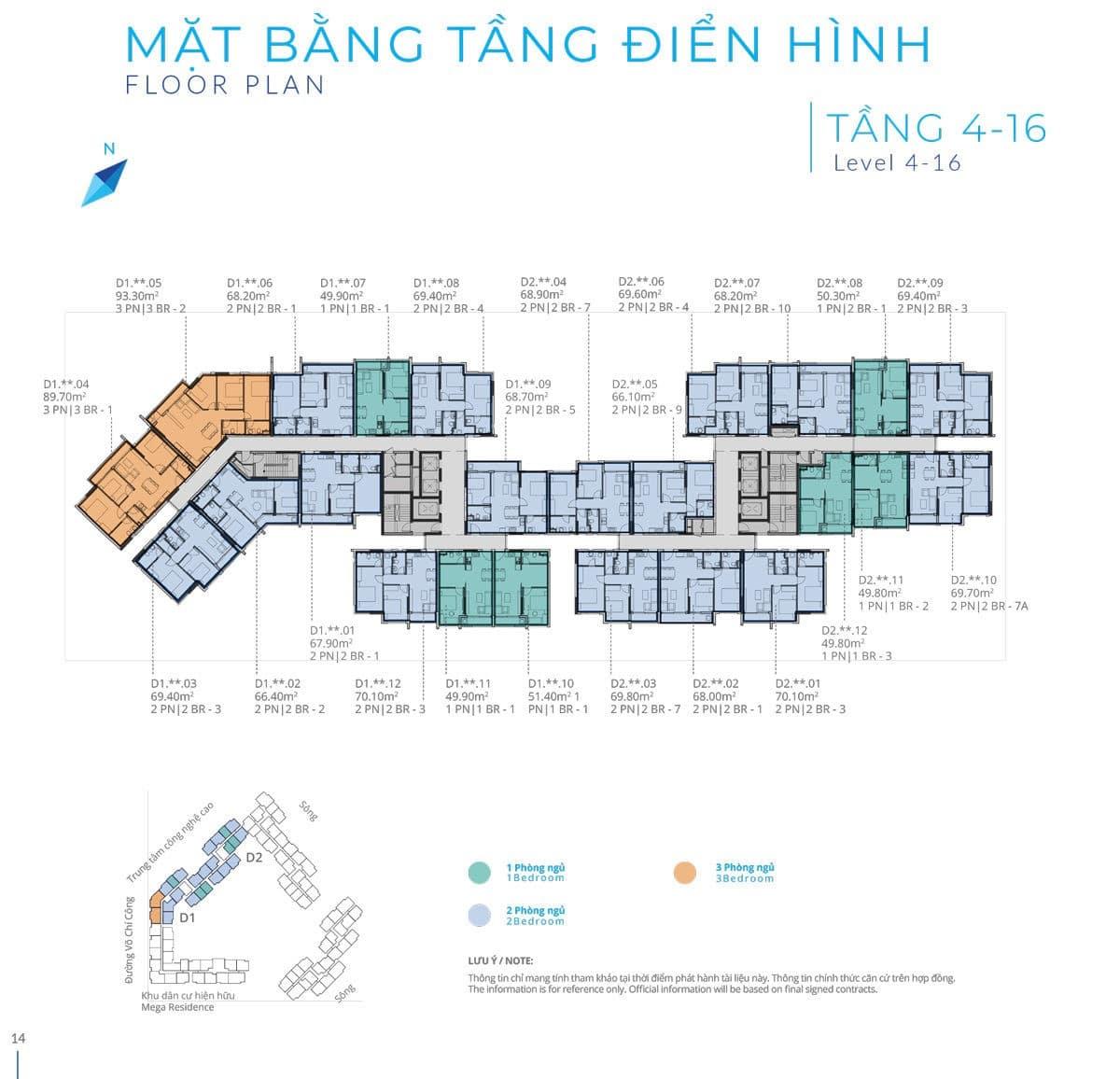 mat bang safira tang 4 16 - CĂN HỘ SAFIRA KHANG ĐIỀN QUẬN 9