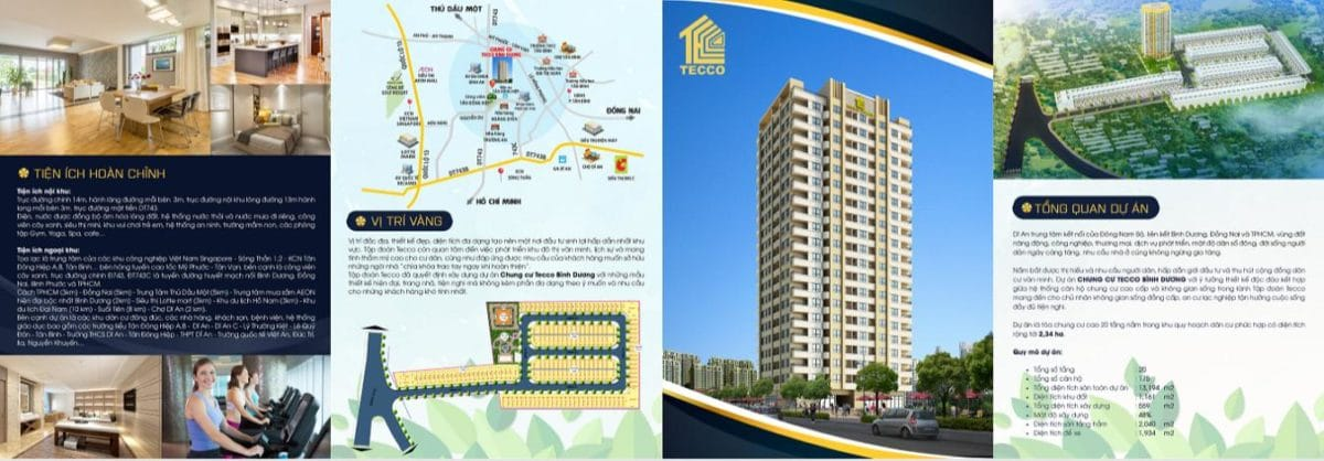 Dự án Căn hộ Chung cư Tecco Tower Bình Dương