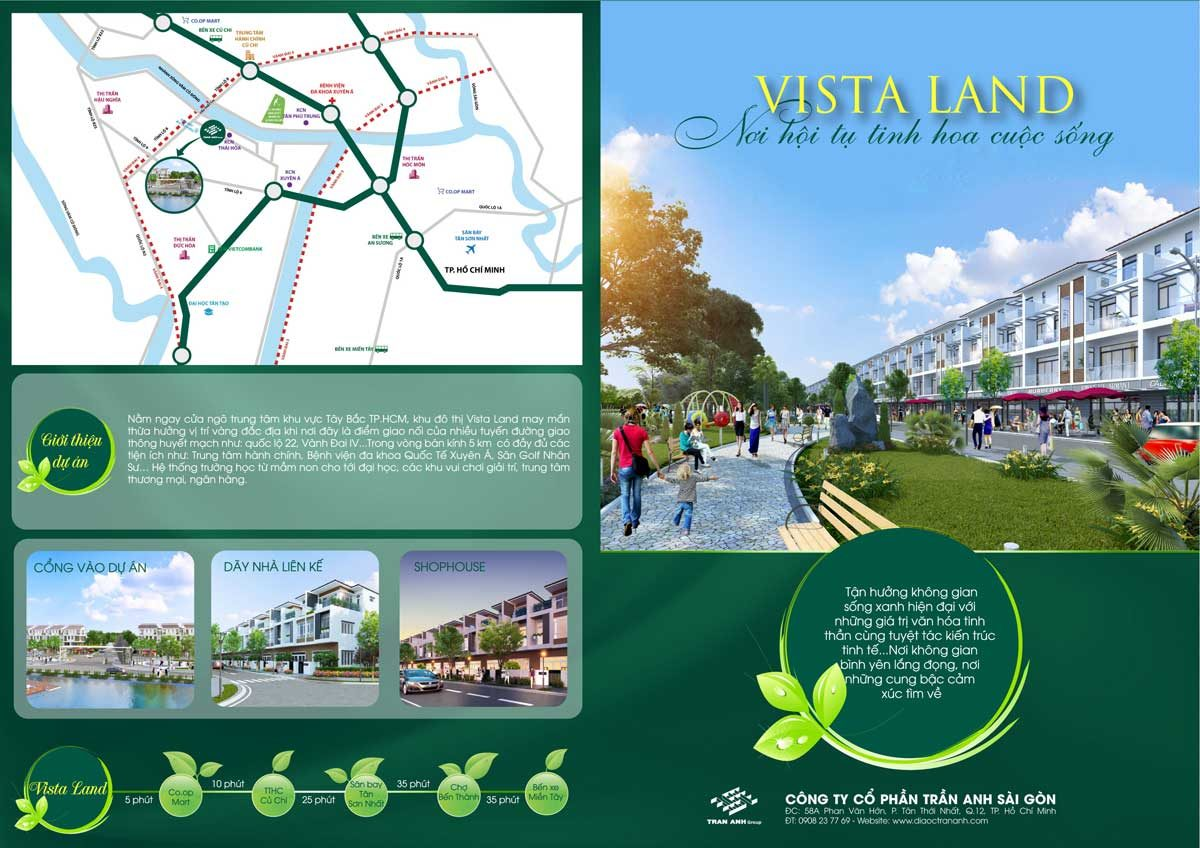tien ich ket not khu vuc du an vista land city - DỰ ÁN VISTA LAND CITY ĐỨC HÒA LONG AN