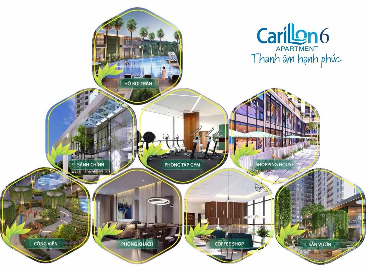 tien ich noi khu du an carillon 6 - CĂN HỘ CARILLON 6 TÂN PHÚ
