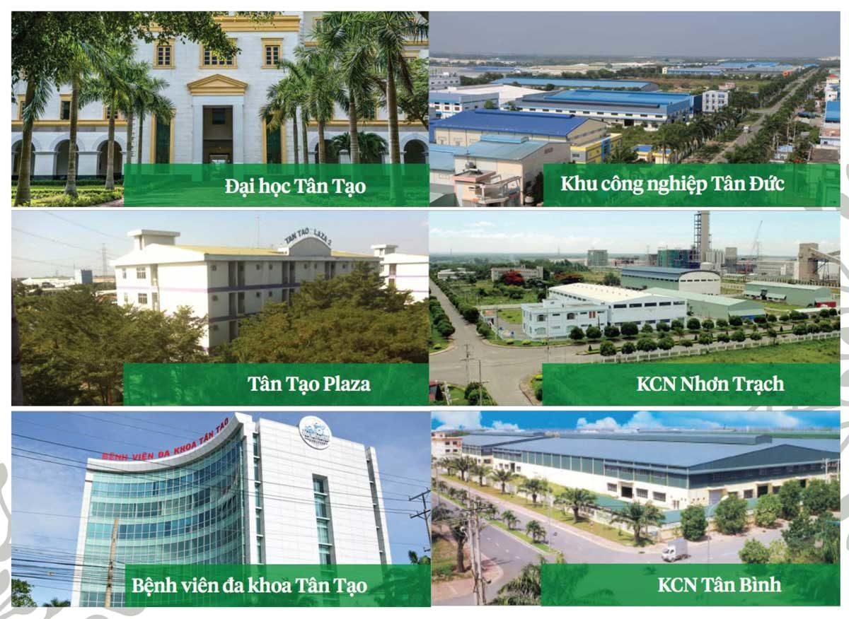 cac du an da trien khai cua Công ty CP Đầu tư Công nghiệp Tân Tạo - DỰ ÁN EVERDE CITY LONG AN