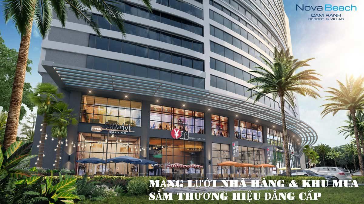 Hệ thống Trung tâm thương mại Nova Beach Cam Ranh Resort & Villas