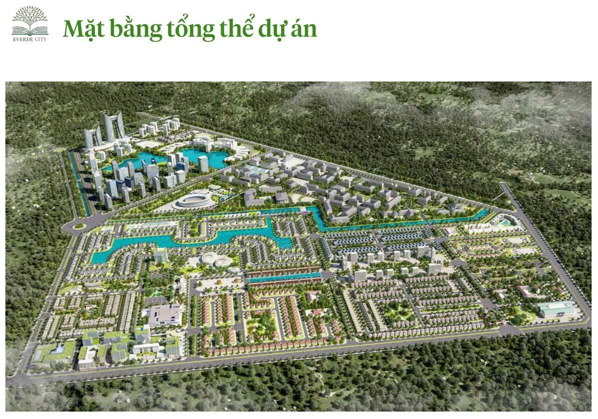 mat bang tong the du an everde city - DỰ ÁN EVERDE CITY LONG AN