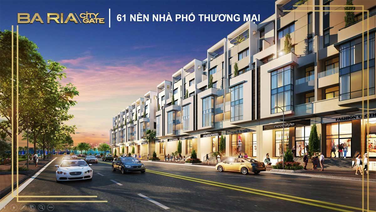 nha pho thuong mai du an ba ria city gate - DỰ ÁN BARIA CITY GATE BÀ RỊA VŨNG TÀU