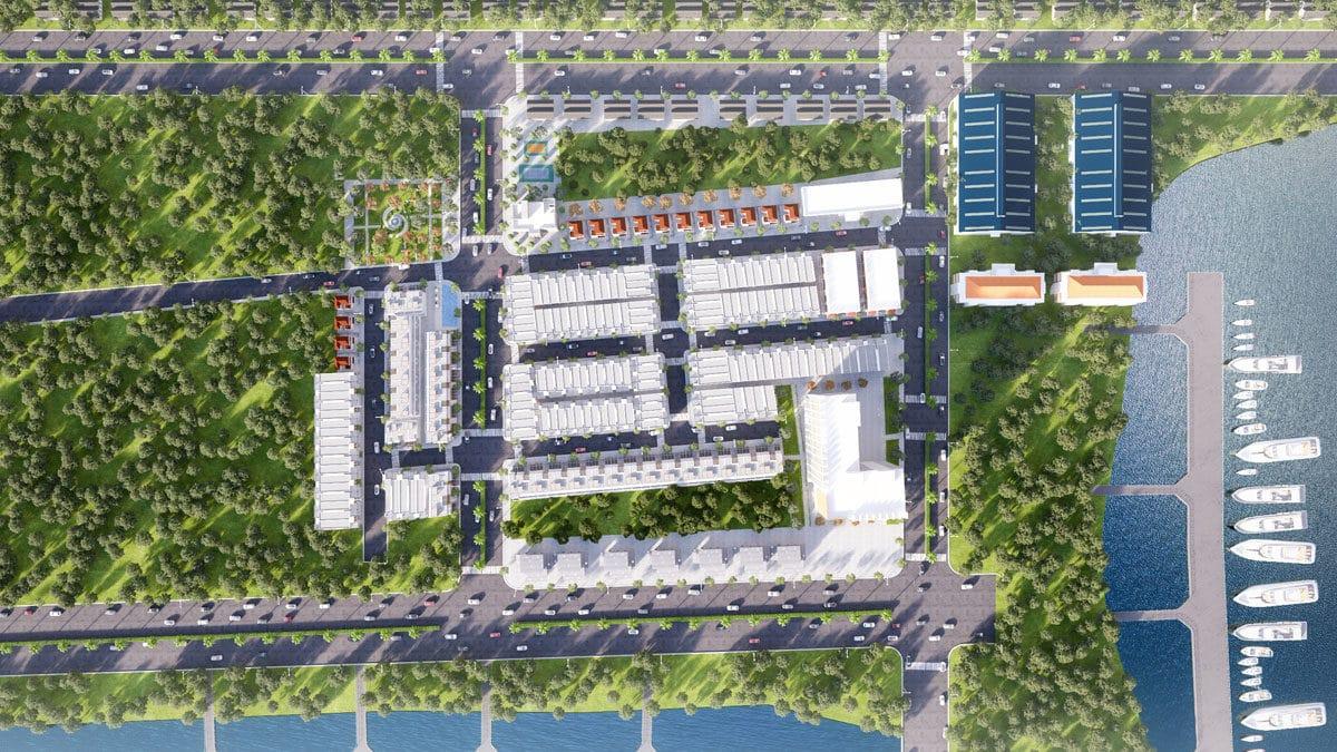 Phối cảnh Dự án Harbor Center Phú Mỹ Phú Mỹ Bà Rịa