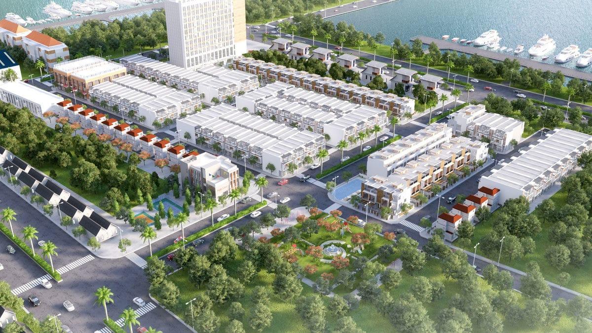Phối cảnh Dự án Harbor Center Phú Mỹ Bà Rịa