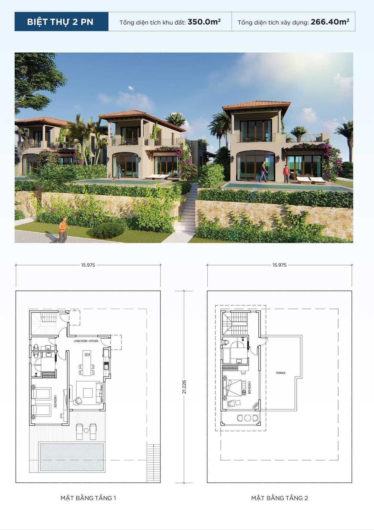 thiet-ke-biet-thu-2pn-du-an-nova-beach-cam-ranh-resort-villas