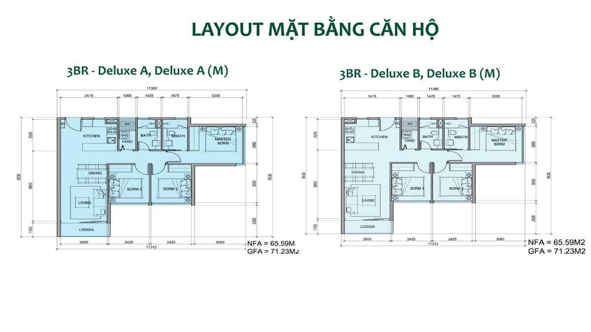 Thiết kế Căn hộ Dự án Metro Star Quận 9