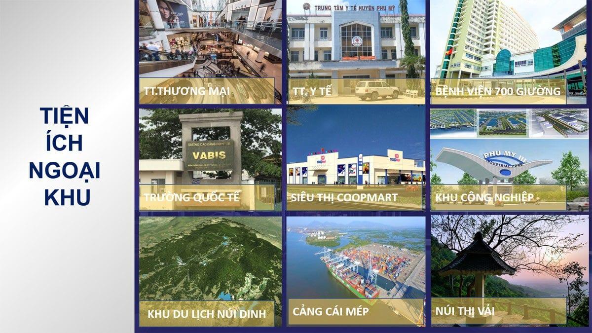 Tiện ích ngoại khu của Dự án Harbor Center