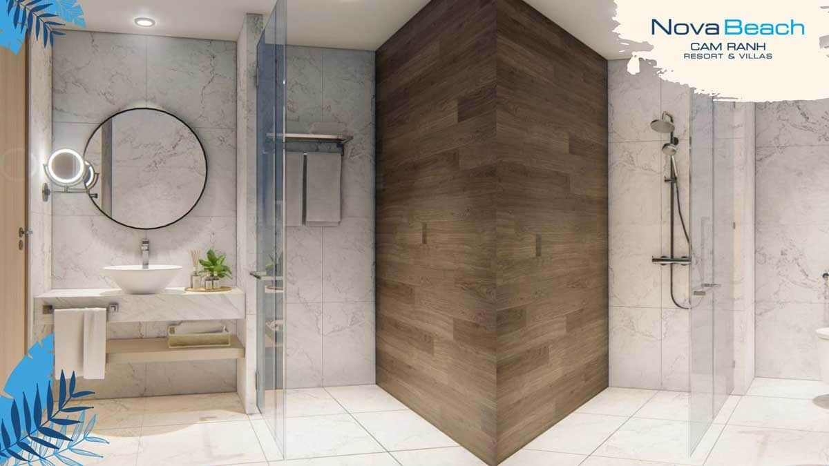 Toilet Căn hộ NovaBeach Cam Ranh