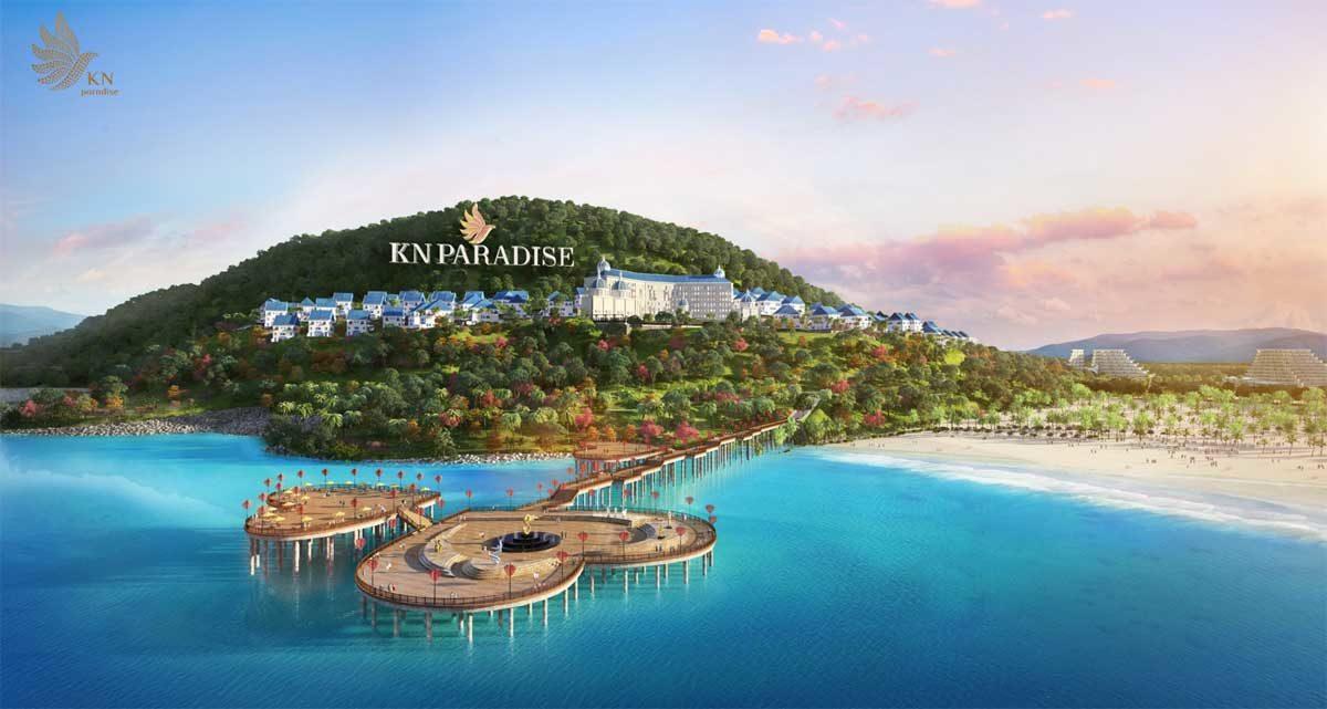 Đồi KN với Khu hotel resort 6 Sao duy nhất tại Cam Ranh và Cầu tình yêu