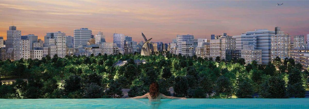 Hồ bơi chân trời với tầm nhìn vô cực - CĂN HỘ PARK LEGEND HOÀNG VĂN THỤ TÂN BÌNH