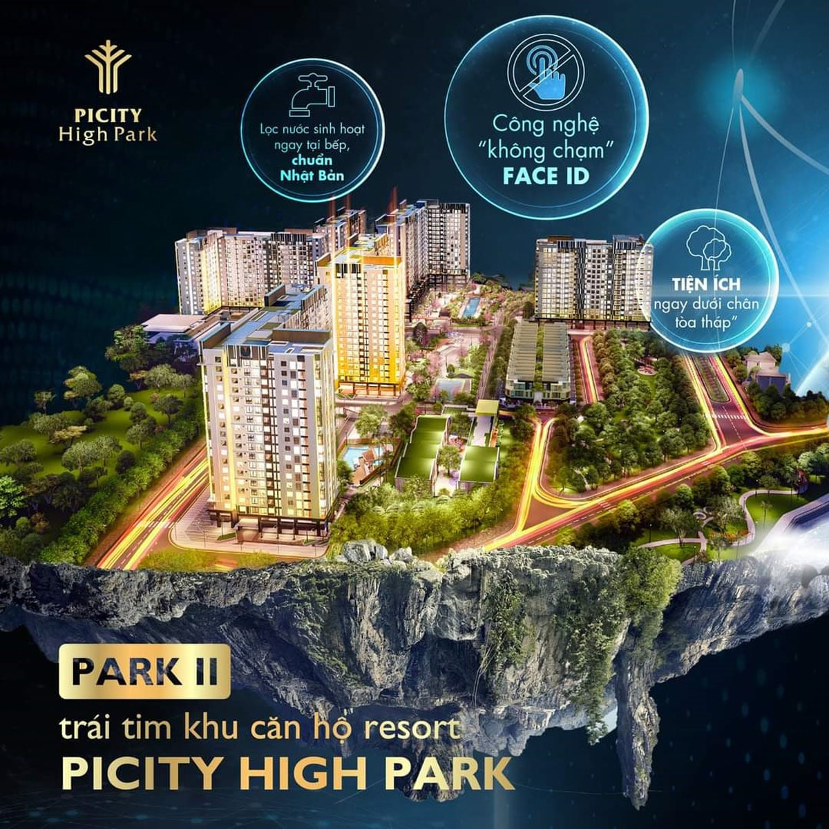 Park 2 trai tim cua du an picity high park - PICITY HIGH PARK