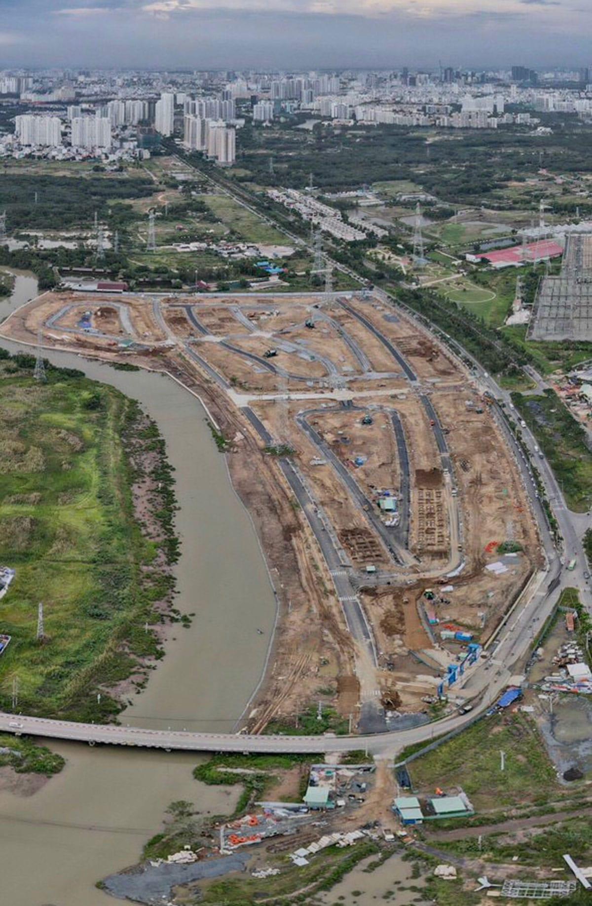 Tien do thi cong Du an GS Metrocity Nha Be 2021 - GS METROCITY NHÀ BÈ