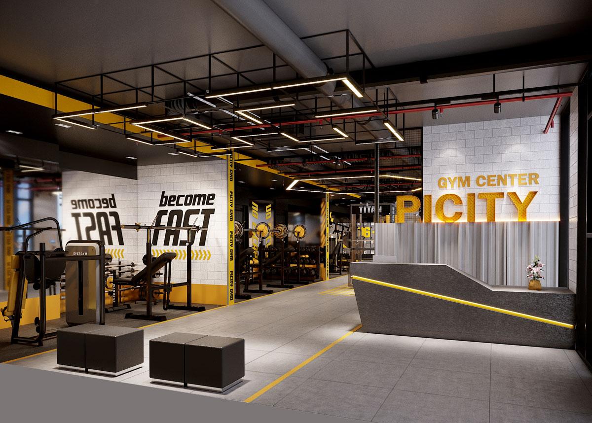 Tien ich Gym Center tại Picity High Park - PICITY HIGH PARK QUẬN 12