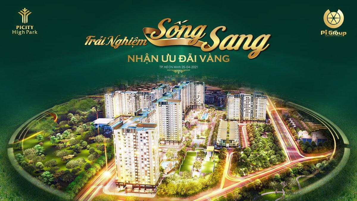 Trai nghiem song sang tai Can ho Picity High Park - PICITY HIGH PARK