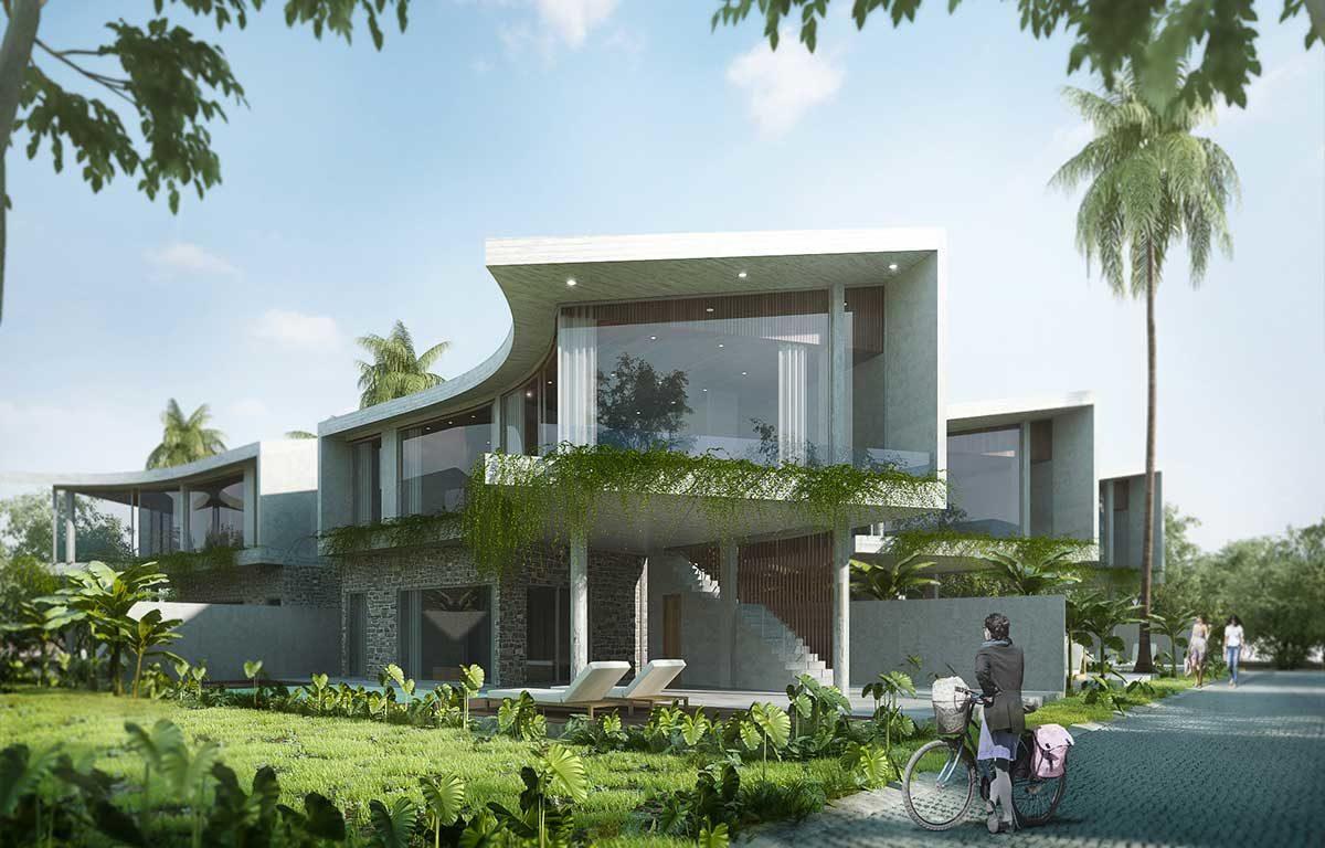Biệt thự mẫu Rosa Alba Resort Tuy Hòa