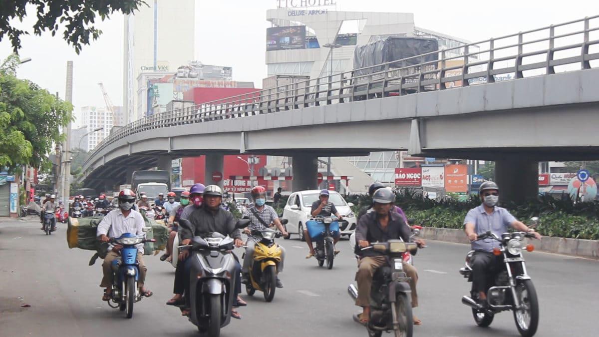 Cầu vượt nút giao thông Lăng Gia Cả