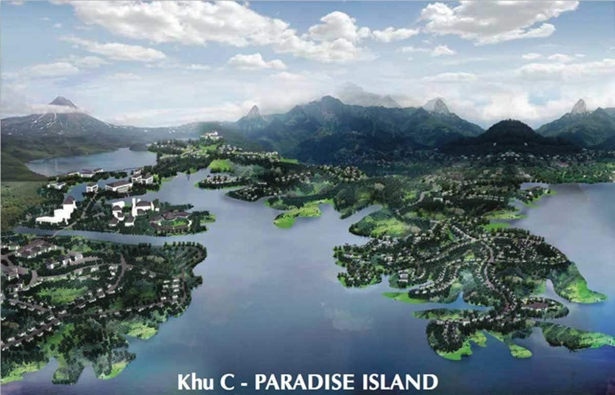 Khu C Paradise Island Khu đô thị Nam Đà Lạt