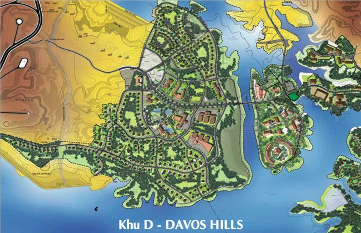 Khu D Davos Hills Khu đô thị Nam Đà Lạt