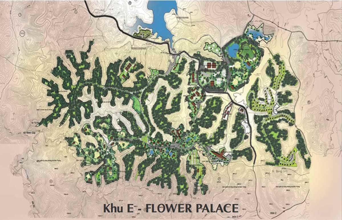 khu e flower palace khu do thi nam da lat - DỰ ÁN KHU ĐÔ THỊ NAM ĐÀ LẠT