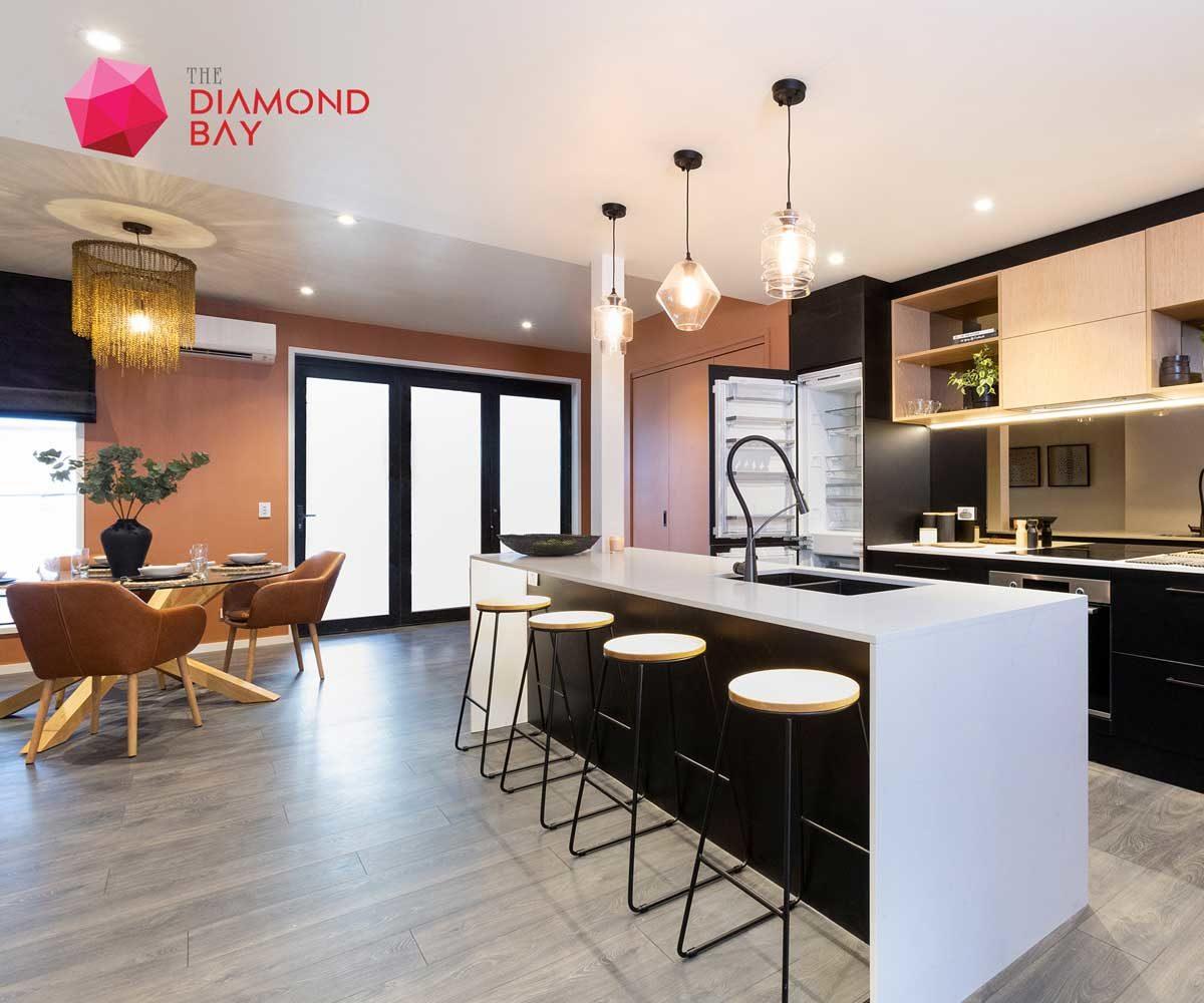 khu vuc bep the diamond bay - DỰ ÁN THE DIAMOND BAY CỦ CHI - LONG AN