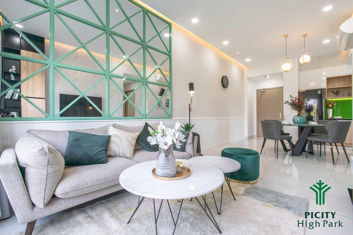 khu vuc sofa phong khach can ho picity high park 2020 - PICITY HIGH PARK