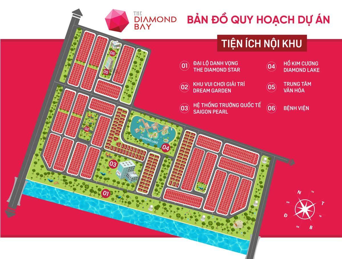 mat bang phan lo du an the diamond bay - DỰ ÁN THE DIAMOND BAY CỦ CHI - LONG AN
