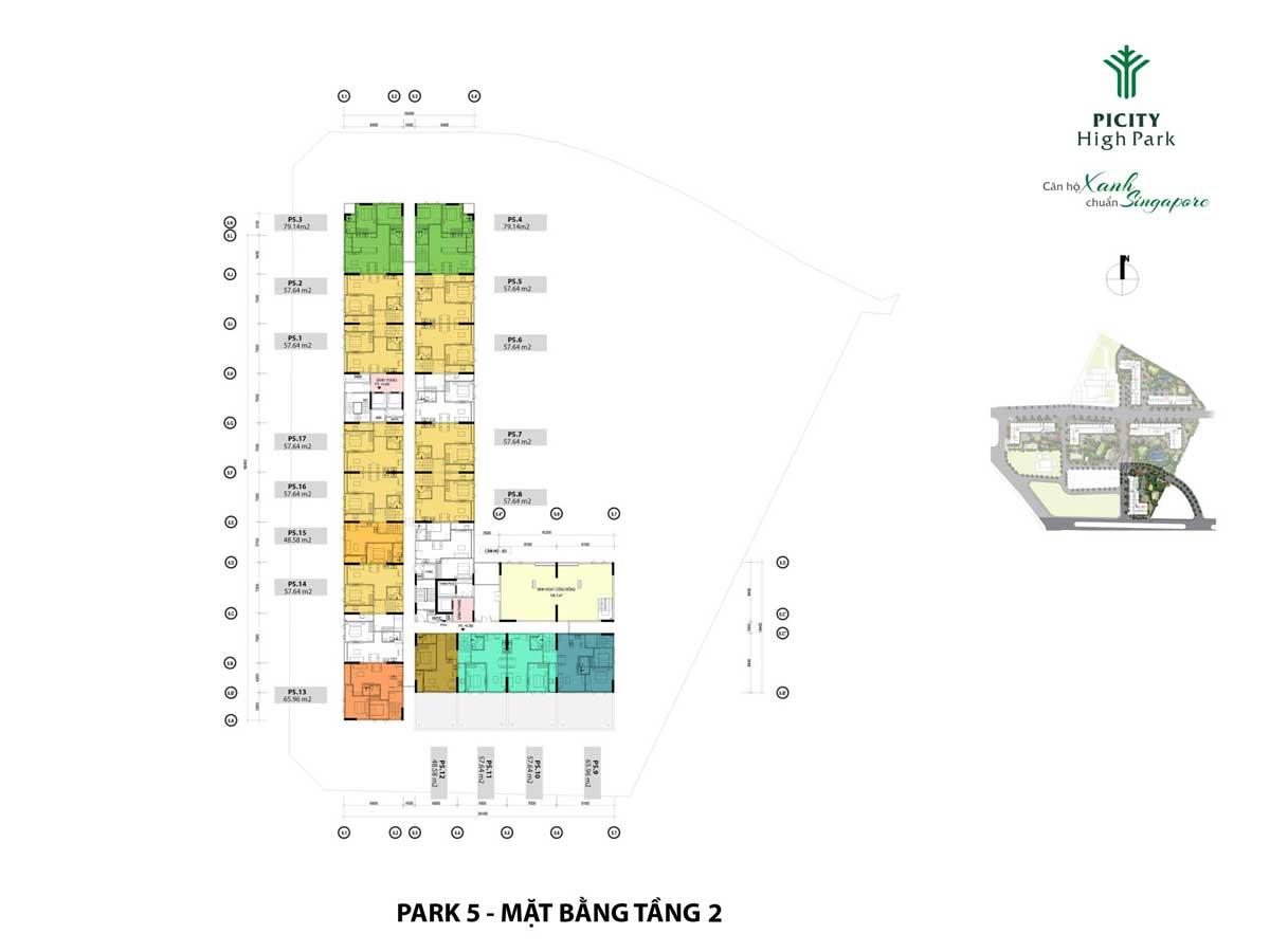 mat bang tang 2 shophouse park 5 picity high park - PICITY HIGH PARK QUẬN 12
