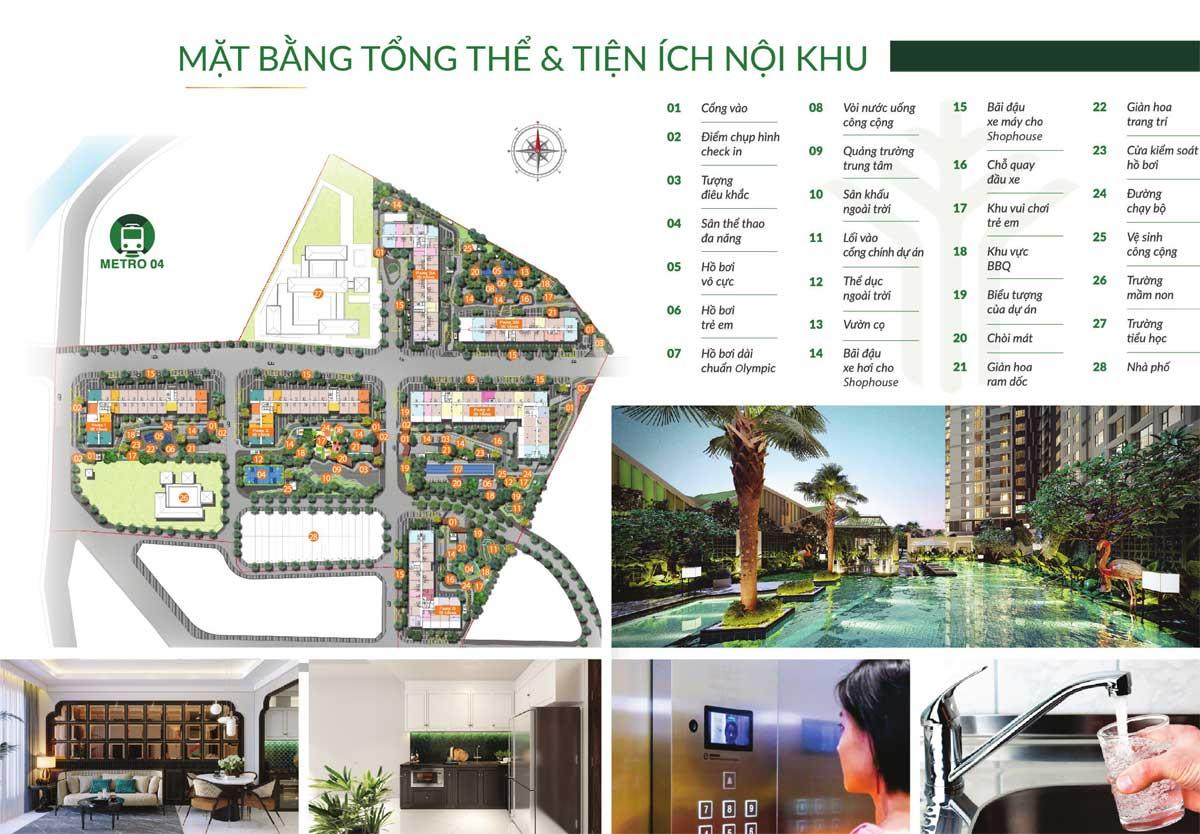 mat bang tien ich noi khu du an picity high park - PICITY HIGH PARK
