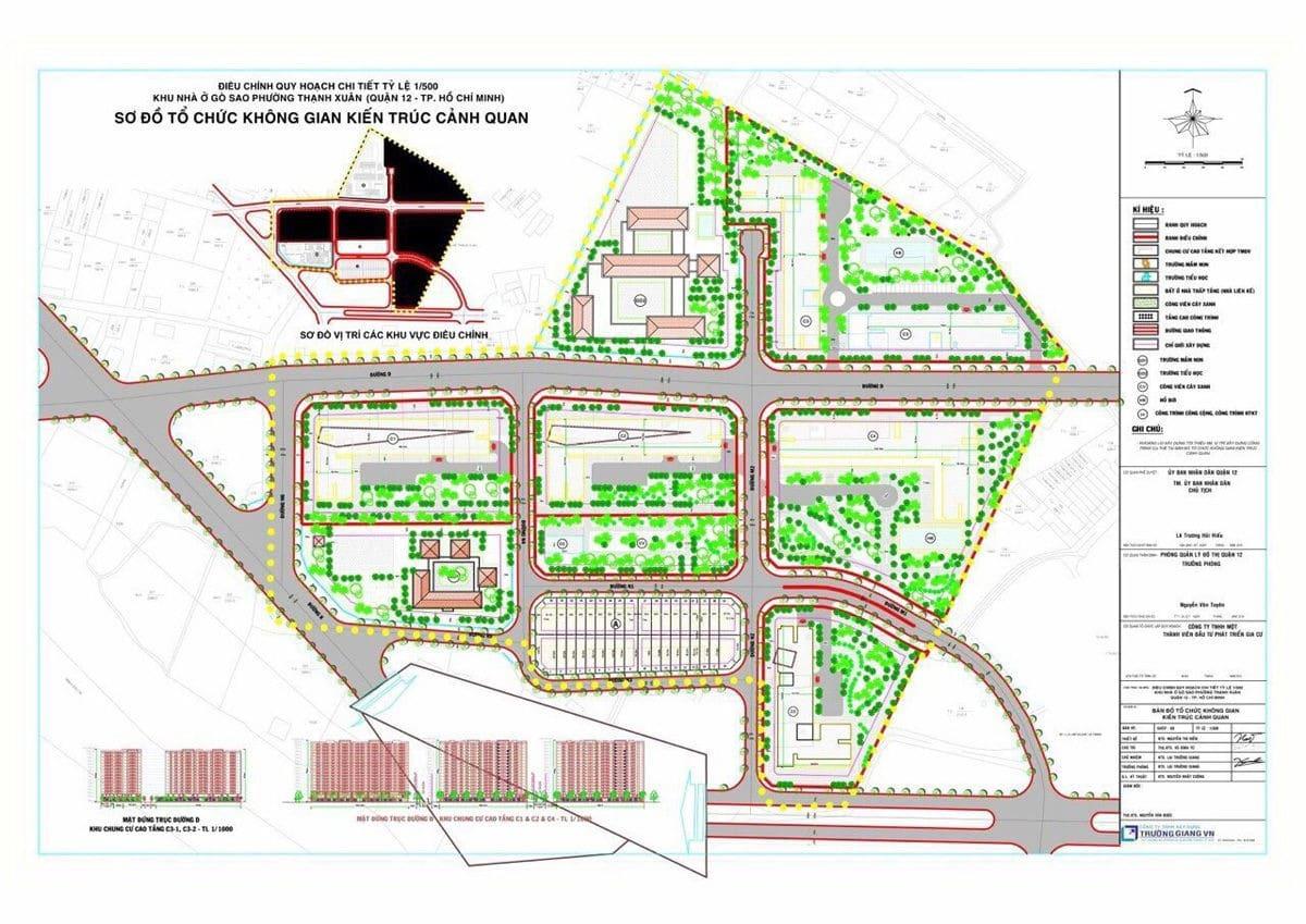 Mặt bằng tổng quan Dự án Căn hộ PiCity Quận 12