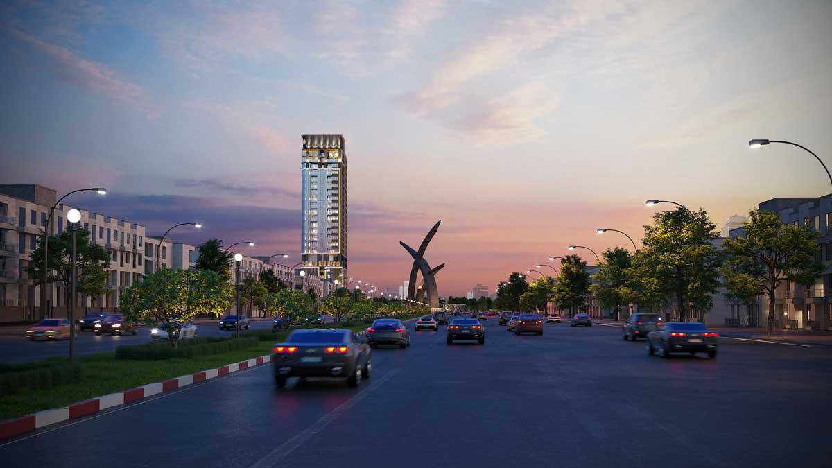 phoi canh park legend tan binh - CĂN HỘ PARK LEGEND HOÀNG VĂN THỤ TÂN BÌNH