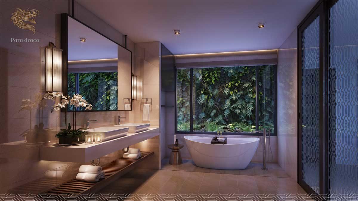 Phòng tắm Biệt thự Para Draco