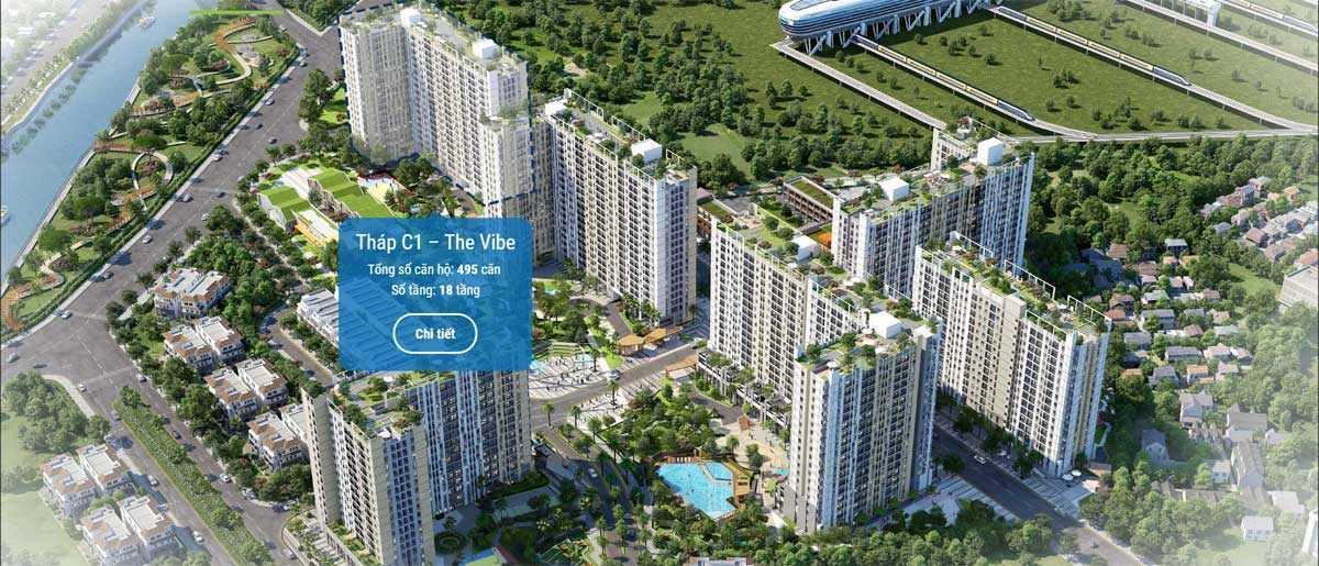 thap c1 the vibe du an can ho picity high park 2020 - PICITY HIGH PARK QUẬN 12