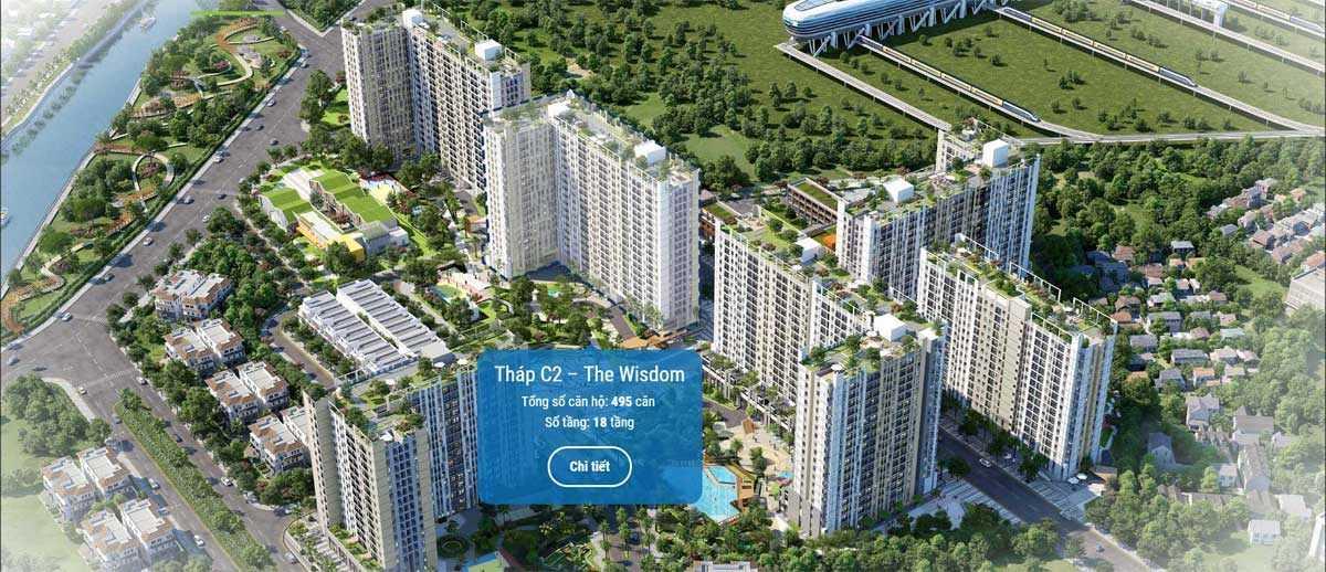 thap c2 the wisdom du an can ho picity high park 2020 - PICITY HIGH PARK QUẬN 12
